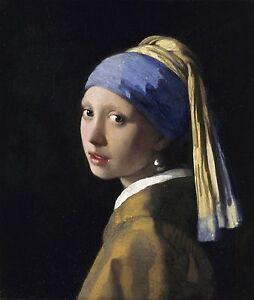 Girl with a Pearl Earring by Johannes Vermeer, 16