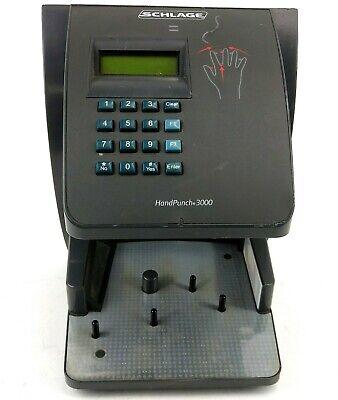 Schalge Handpunch 3000 Hp-3000 Biometric Time Clock Untested Parts Repair