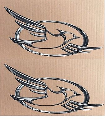 2 JAYCO BIRD LOGO DECAL / GRAPHICS JAY FLIGHT FEATHER EAGLE PINNACLE MOTORHOME