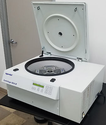 Eppendorf Refrigerated Centrifuge 5810r Microplate Rotor Warranty