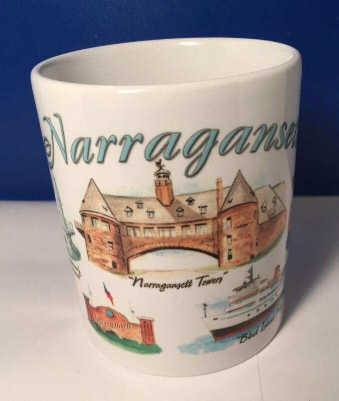 Rhode Island ceramic coffee tea mug cup Famous Places to Visit 10 oz