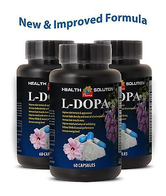 Mood support supplement - L-DOPA - Testosterone & Energy - Better sleep - (Best L Dopa Supplement)