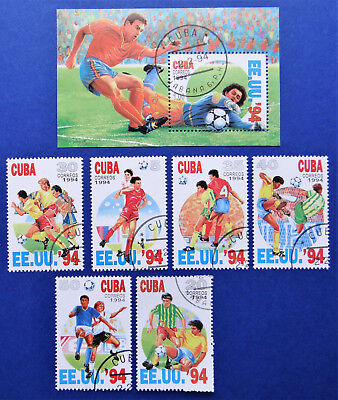 Philatelic STAMPS FROM OVER THE WORLD - 380 SOCCER EE.UU '94 SERIES