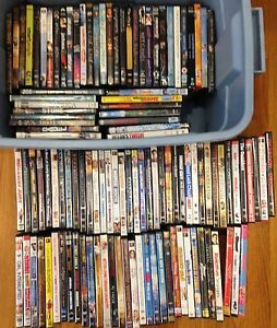 115 DVDs all for 55.00