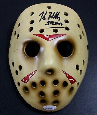 Kane Hodder Signed Resin Prop Replica Jason Voorhees Mask