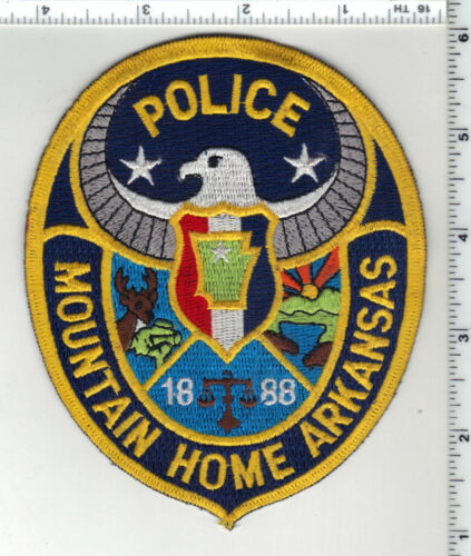 Mountain Home Police (Arkansas) 3rd Issue Shoulder Patch