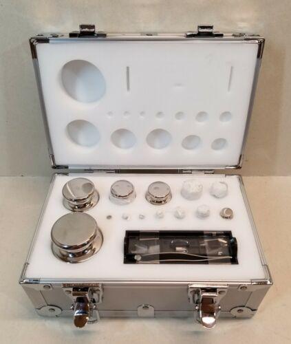NEW TrueMASS Precision Calibration Weight Set OIML Class E2 (1mg to 1kg)