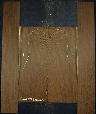 Guitar Luthier Tonewood QUARTERSAWN WENGE Acoustic backs sides SET back and side