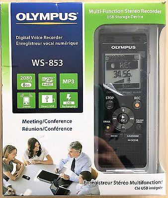 Olympus Digital Voice Recorder WS-853, Black