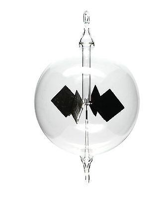 Lichtmühle Solar Radiometer hängend 100mm klar Lichtmühlen von GlasXpert