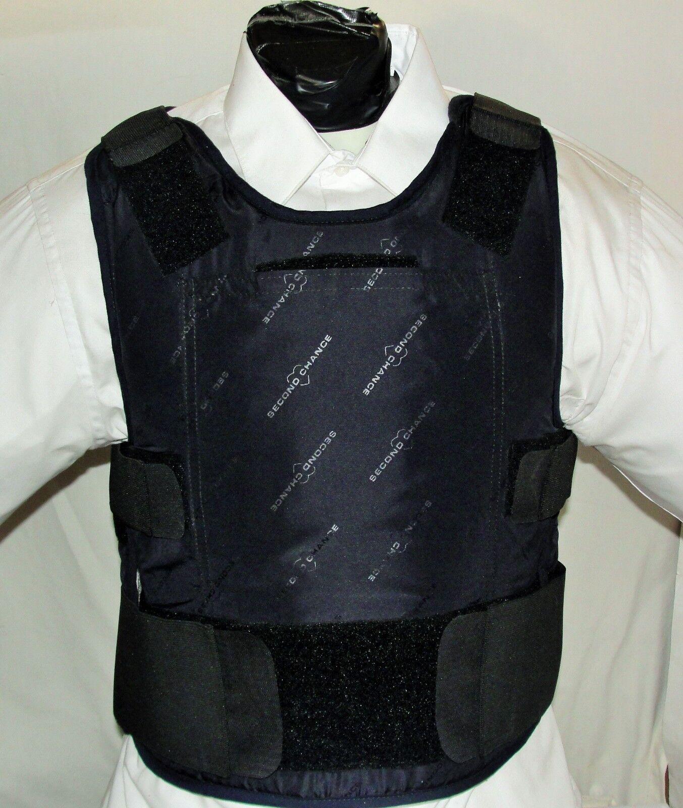 Concealable Body Armor Carrier BulletProof Vest with Inserts XXXL IIIA Lo Vis
