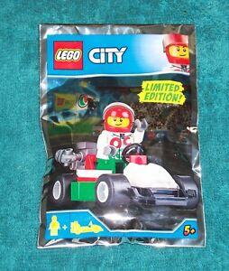 LEGO CITY: Race Driver and Go-kart Polybag Set 951807 BNSIP