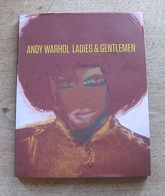 ANDY WARHOL - LADIES & GENTLEMEN - 2009 1st/1st HCDJ -ART Skarstedt gallery FINE