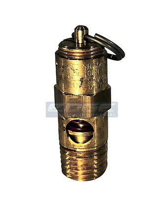 80 Psi Brass Safety Pressure Relief Pop Off Valve Air Tank Compressor 14
