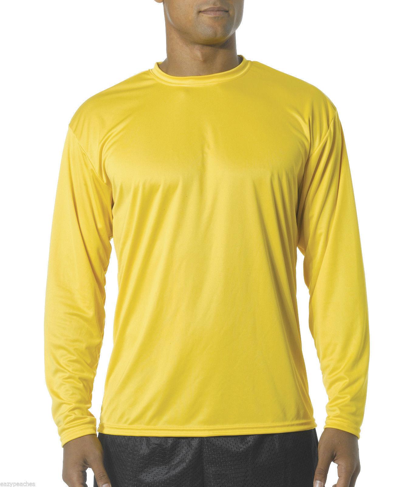 1a69f16d NEW Men's SPORT TEK Dri-Fit Big & Tall Long Sleeve T-SHIRT LT-4XLT  TST350LS. Click to Enlarge