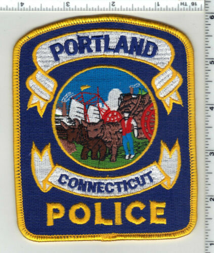 Portland Police (Connecticut) 3rd Issue Shoulder Patch