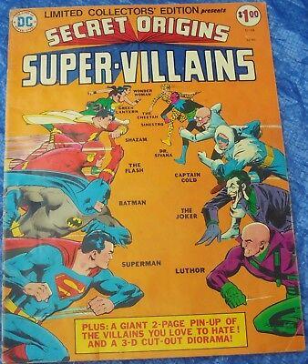 DC Collectors Edition C-39 Secret Origins Of Super Villains 1975 Joker Luthor