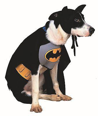 Classic Batman Pet Costumes Superhero Dog Cat Outfit (Batman Dog Outfit)