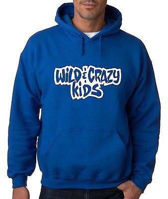 BLUE Wild & Crazy Kids Nickelodeon  Hooded SWEATSHIRT HOODIE