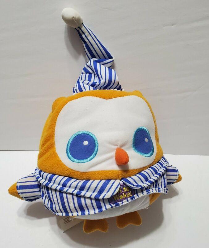 Onaroo OK to Wake ! Owl with Night Light and Music alarm clock toddler plush toy