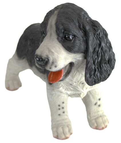 30cm Border Collie Dog Ornament Figurine Lovely Intricate Detail Puppy