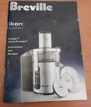 Breville Ikon BJE520 Froojie Juice Fountain Connolly Joondalup Area Preview