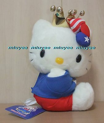 Vintage 2001 Japan Only Japan Yahoo Limited Hello Kitty W  Gold Crown Plush Lrg
