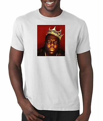 The Notorious BIG King Of New York T Shirt Hip Hop Tee Vintage Style Rap (Biggie King Of New York T Shirt)