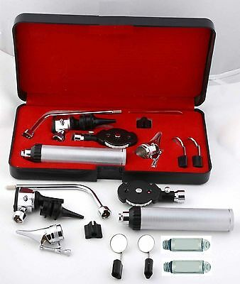 Premium Grade Ent Opthalmoscope Ophthalmoscope Otoscope Nasal Diagnostic Set