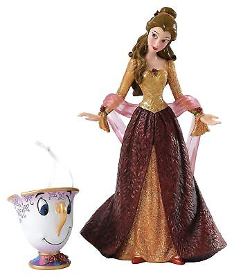 Disney Beauty & Beast BELLE Figurine, Chip Ornament Centerpiece Wedding Gift