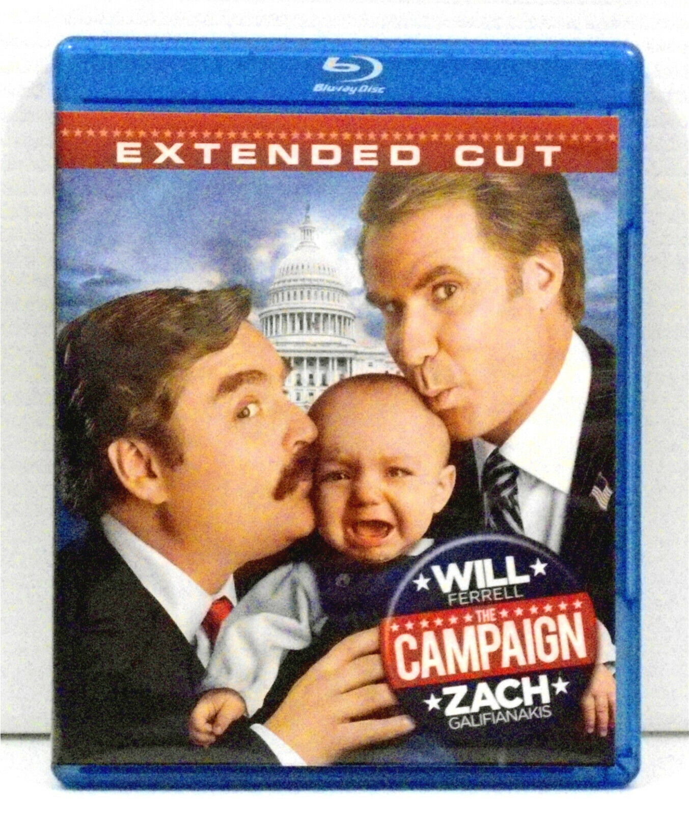 the campaign extended cut blu ray disc