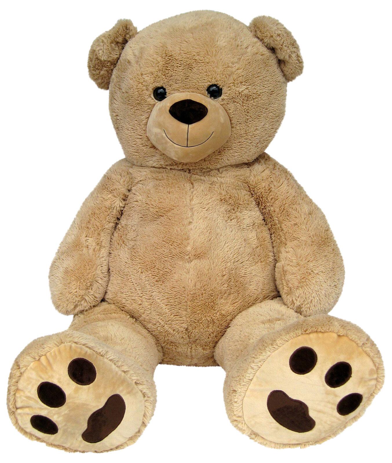 xxl teddyb r 170cm gross beige pl sch b r teddy stoffb r pl sch tier kuscheltier eur 89 95. Black Bedroom Furniture Sets. Home Design Ideas