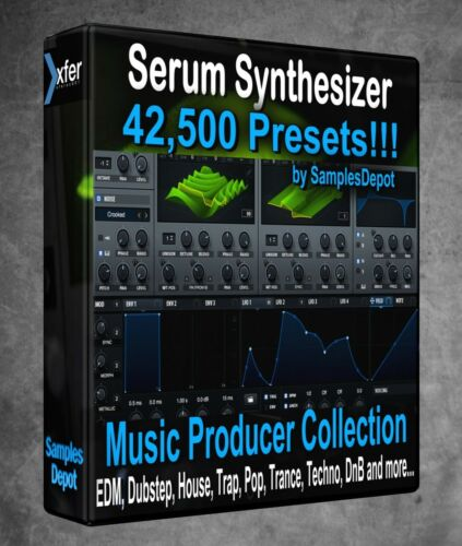 42,500 xFer Serum Presets Bundle - FL Studio, Bitwig Ableton Sonar Cubase, Logic
