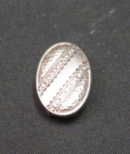 Vintage Sterling Scarf Clip 3.7g