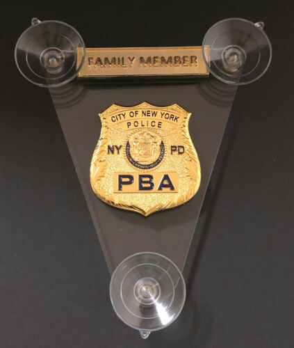 PBA 2021 CAR SHIELD  FAMILY MEMBER
