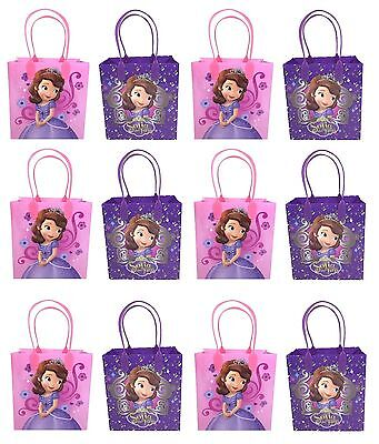 24pc Disney Princess Sofia The First Goody Bags Party Favor Birthday Loot Gift (Sofia The First Favor Bags)