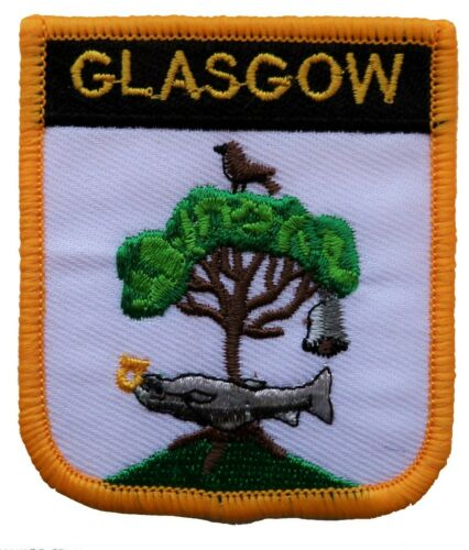 Glasgow Scotland Shield Embroidered Patch