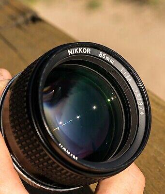 Nikon NIKKOR 85mm f/1.4 Ai-S Lens Excellent Condition Sample Images