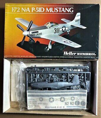 HELLER HUMBROL 80268 NORTH AMERICAN P-51D MUSTANG 1/72 PLASTIC KIT