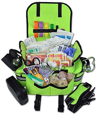 Lightning X Small First Responder Emt Trauma Bag Stocked First Aid Fill Kit B Fy