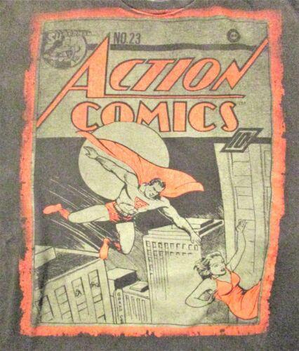 Superman Action Comics #23 Mens XL Graphic T Shirt DC Comics Falling Woman City
