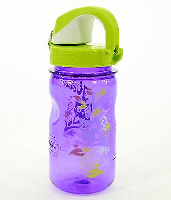 Nalgene Kids On The Fly 12 Oz  Water Bottle  Hoot Purple Green