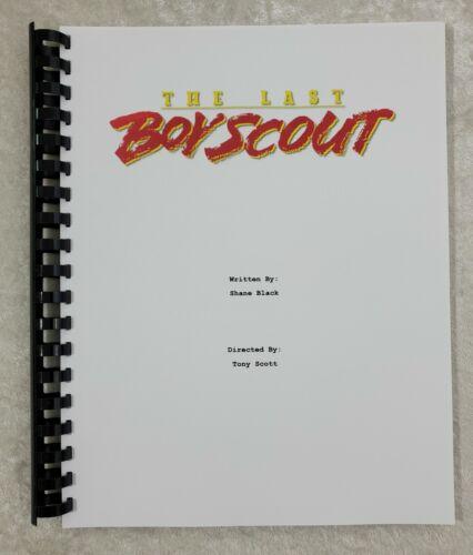 The Last Boy Scout Movie Script Reprint Full Screenplay Script 1991 Film