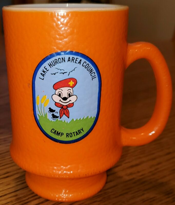 Lake Huron Area Council Camp Rotary Michigan coffee mug/cup BSA ONLY ONE ON EBAY