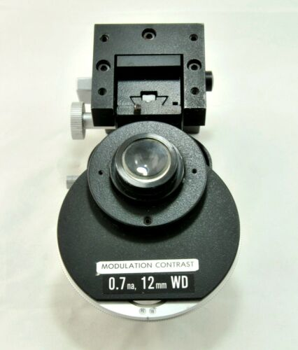 Hoffman Modulation Condenser 0.7NA for Nikon Diaphot Inverted  Microscope
