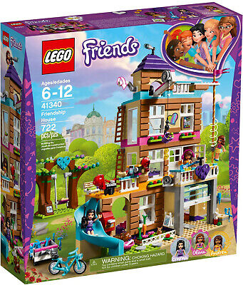 LEGO FRIENDS - FRIENDSHIP HOUSE  |  41340  |  NEW IN BOX  |  GIRL  |  FREE SHIP