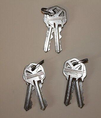 Kwikset Keys To Re-key Kwikset Smartkey Locks Three 3pair Free Shipping New
