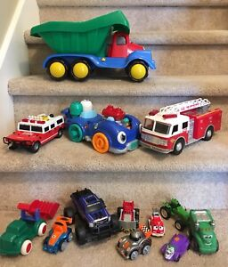 Car and truck  toy lot