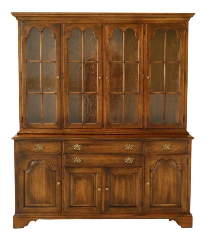 49082EC: STATTON Oxford Cherry 4 Door Hutch Cupboard