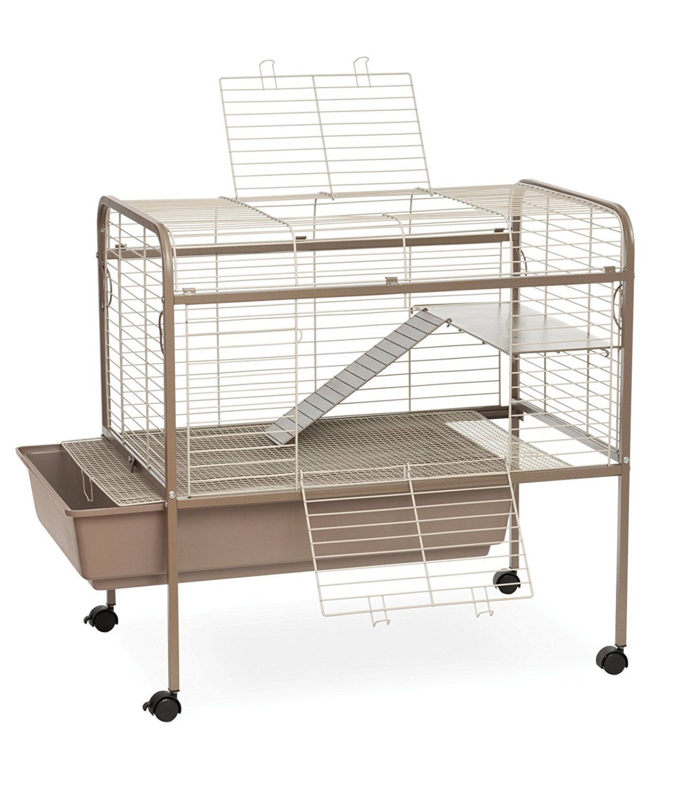 Prevue Pet Products Spv425 Small Animal Cage on Stand With Casters ...
